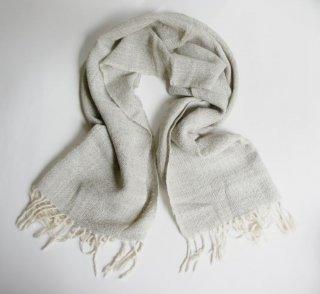 アルパカ100%の手織りショール