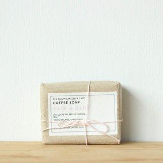 ココナッツオイルたっぷりのコーヒー石鹸 (マイルド)
