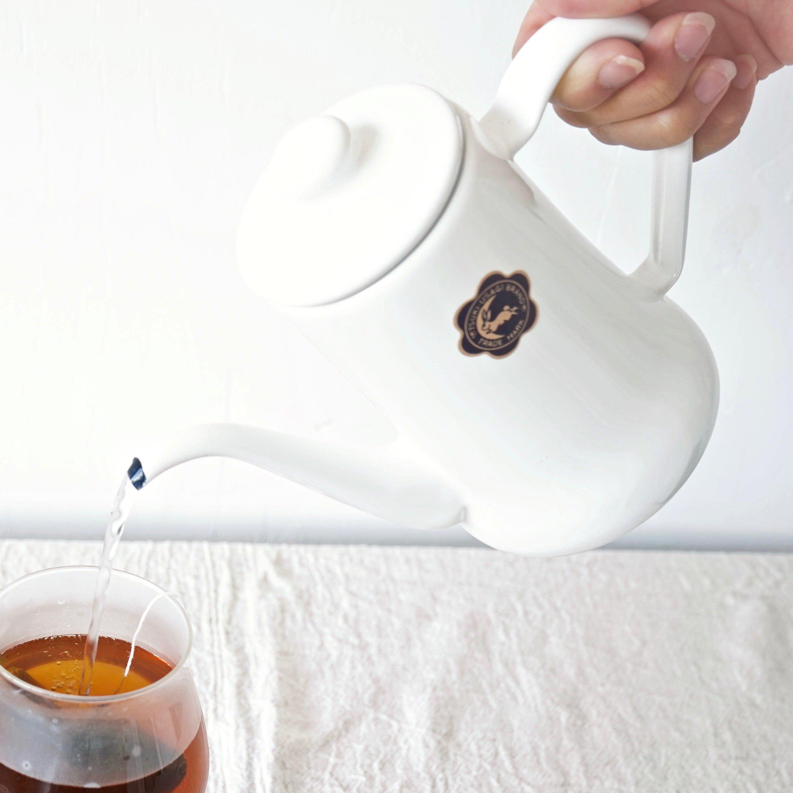 月兎印コーヒーポット<br>ホワイト