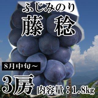 【クール便】藤稔(ふじみのり)3房ギフト