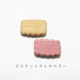 美濃焼陶器箸置き「ビスケット ストロベリー」洋菓子シリーズ