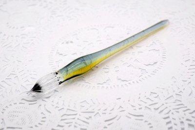 ガラス工房aun ガラスペン うつろい夏 A(長さ約15cm)