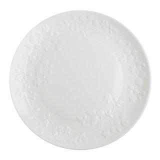 ウェッジウッド (WEDGWOOD) ワイルドストロベリー ホワイト プレート 27cm