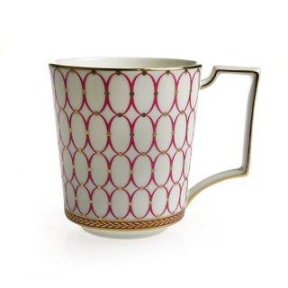 ウェッジウッド (WEDGWOOD) ルネッサンスゴールド マグカップ ピンク