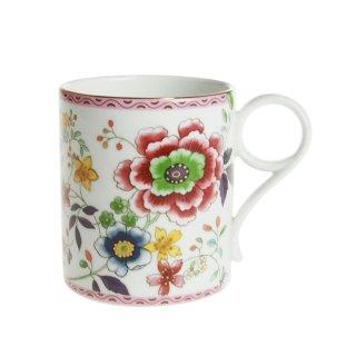 ウェッジウッド (WEDGWOOD) アーカイブ マグコレクション ピンク クリサンセマム マットゴールド マグカップ