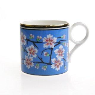 ウェッジウッド (WEDGWOOD) アーカイブ マグコレクション ブルー ブロッサム マグカップ