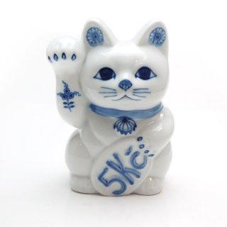 カールスバード ブルーオニオン (Carlsbad Blue Onion) まねき猫 置物