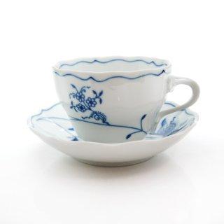 カールスバード ブルーオニオン (Carlsbad Blue Onion) ECO コーヒーカップ&ソーサー 210cc