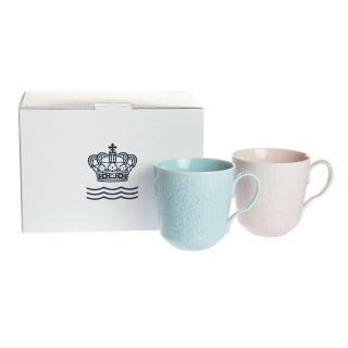 ロイヤルコペンハーゲン フラワーエンブレム マグカップ ペア 2-649-046<br>【Spring*Sale2】