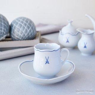 マイセン (Meissen) マイセンマーク コーヒーカップ &ソーサー 23582