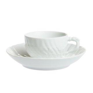 マイセン (Meissen) スワンホワイト ティーカップ&ソーサー 000001/05584