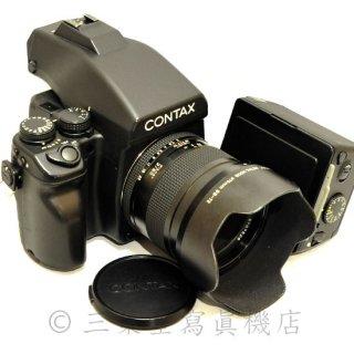 CONTAX645 + Planar 80mm f2 T*