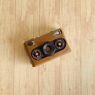 昨日カメラ Rollei35用縦ケース