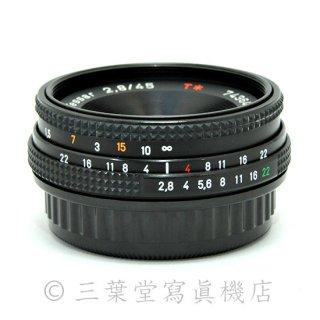 CONTAX  Tessar 45mm F2.8 MMJ