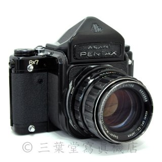 PENTAX 6×7 + Super Multi Coated TAKUMAR/6×7 105mm F2.4
