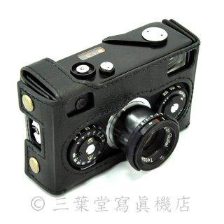 【昨日カメラ製ケース付き!】Rollei35 Black Tessar