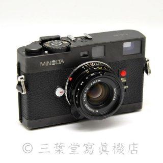 minolta CLE + M-ROKKOR 40mm F2