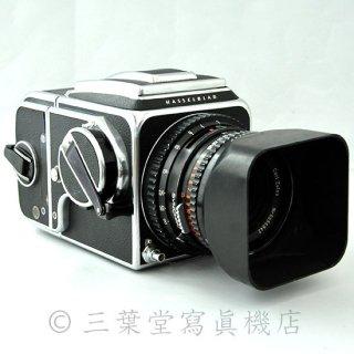 【アキュートD交換済み!】HASSELBLAD  500C後期 + C Planar 80mm F2.8 T* + A-12