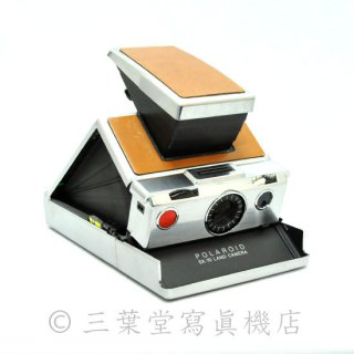 Polaroid  SX-70 1st model 前期 茶銀