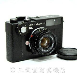 LEITZ minolta CL + M-ROKKOR 40mm F2