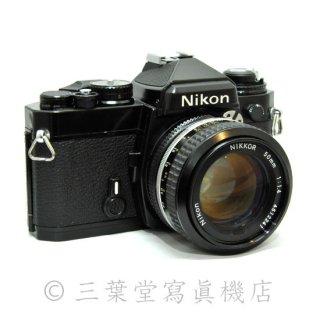 Nikon FE BK + Ai NIKKOR 50mm F1.4