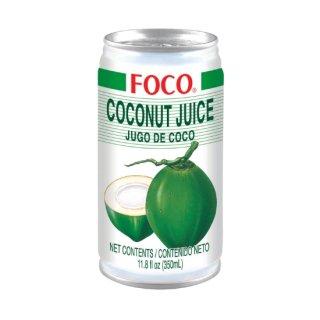 FOCO ココナッツジュース 350ml缶  ケース販売(24本入)