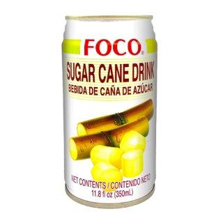 FOCO サトウキビジュース 350ml缶 ケース販売(24本入)