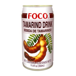FOCO タマリンドジュース 350ml缶 ケース販売(24本入)