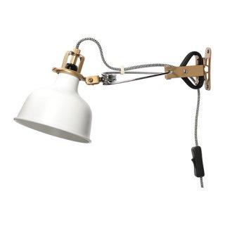 IKEA イケア ウォール クリップ式 スポットライト オフホワイト 60231328 RANARP