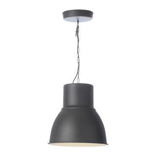 IKEA イケア ペンダントランプ ダークグレー b00216533 HEKTAR