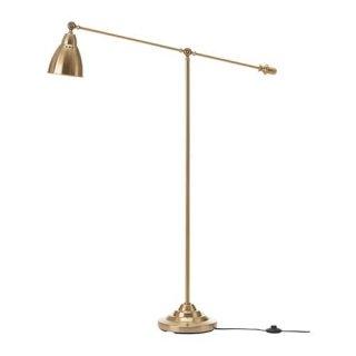 IKEA イケア フロア読書ランプ 黄銅色 z00358056 BAROMETER
