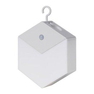 IKEA イケア LEDナイトライト 電池式 ライトグレー z80354323 LILLPITE