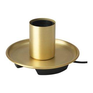 IKEA イケア テーブルランプベース 黄銅色 n10441102 BARALUND
