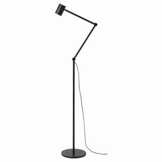 IKEA イケア フロア 読書 ランプ チャコール n70433731 NYMANE