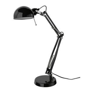 IKEA イケア ワークランプ ブラック 40146784 FORSA