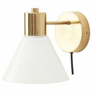 IKEA イケア ウォールランプ 黄銅色 ガラス n10463392 FLUGBO