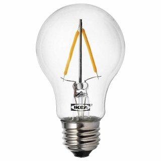 IKEA イケア LED電球 E26 100ルーメン 球形 クリア n30416413