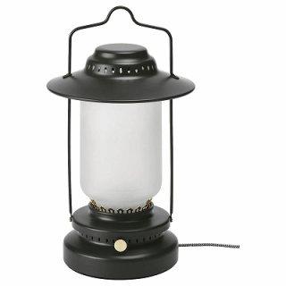 IKEA イケア LEDテーブルランプ 調光可能 屋外用 ブラック n70432736 STORHAGA