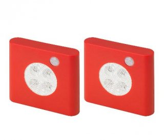 IKEA イケア ワードローブ照明 センサー付き レッド n70448761 OLEBY