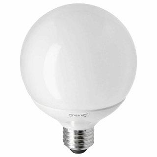 IKEA イケア LED電球 E26 1160ルーメン 色温度調光 球形 オパールホワイト n60438692 LEDARE