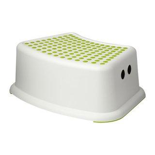 IKEA イケア 子供用スツール ホワイト グリーン a40248419 FORSIKTIG