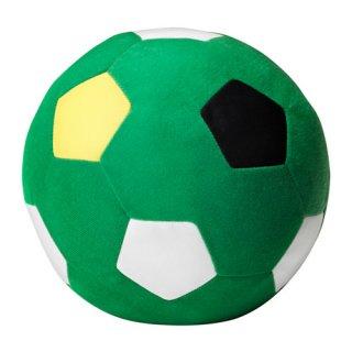 IKEA イケア ソフトトイ ぬいぐるみ サッカーボール グリーン c50302646 SPARKA