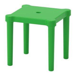 IKEA イケア 子供用スツール 室内/屋外用 グリーン z30357772 UTTER