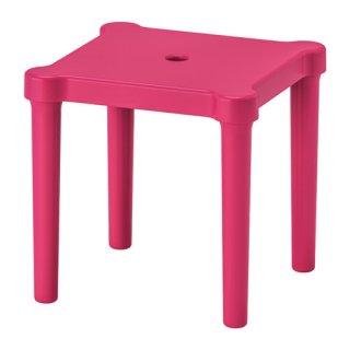 IKEA イケア 子供用スツール 室内/屋外用 ピンク z10357773 UTTER