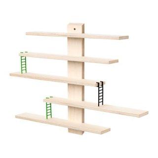 IKEA イケア ウォールシェルフ n10381853 LUSTIGT