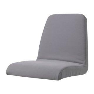IKEA イケア クッション入りシートカバー 子どもチェア用 グレー 56x60x36cm n80352654 LANGUR