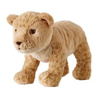 IKEA イケア ソフトトイ ぬいぐるみ ライオンの赤ちゃん n90402837 DJUNGELSKOG