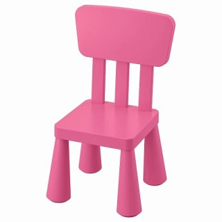 IKEA イケア 子ども用チェア 室内 屋外用 ピンク n60382322 MAMMUT