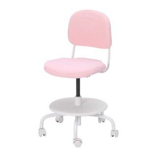 IKEA イケア VIMUND 子ども用デスクチェア - ライトピンク n60424355