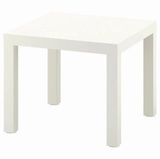 IKEA イケア サイドテーブル ホワイト 55x55cm n10449909 LACK